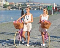O stupeň lepší ovocné promo na bicyklech