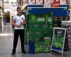 Heineken – promo v rámci finále Ligy Mistrů