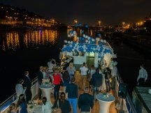 Unique Vltava boat event (12)