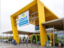 Interspar chain stores remodelling into Albert (1)
