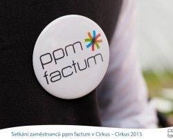 Setkání zaměstnanců ppm factum v Cirkus – Cirkus 2013