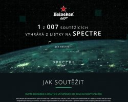 James Bond Spectre pro Heineken