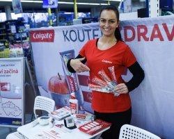 Colgate  - Koutky zdraví v českých prodejnách
