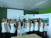 Timotei hostesses training (2)