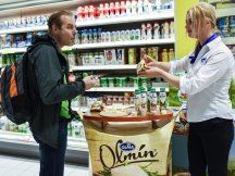 The entire country enjoyed the taste of Moravian Olmín (1)