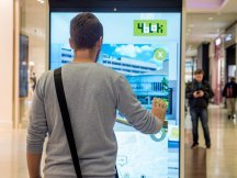 VIRTUAL PROMOTER IN THE NOVÝ SMÍCHOV SHOPPING MALL (10)