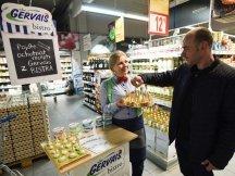 Gervais Bistro in Czech hypermarkets (3)