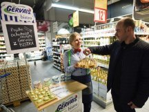 Gervais Bistro in Czech hypermarkets (5)