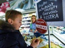 Gervais Bistro v českých hypermarketech (22)
