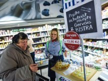 Gervais Bistro in Czech hypermarkets (31)