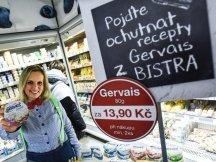 Gervais Bistro in Czech hypermarkets (1)