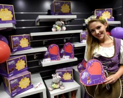 Milka Valentine - 624 promotional activities in 2 days!