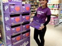 Milka Valentine - 624 promotional activities in 2 days! (18)