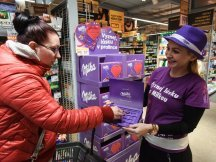 Milka Valentine - 624 promotional activities in 2 days! (19)