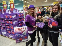 Milka Valentine - 624 promotional activities in 2 days! (21)