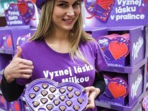 Milka Valentine - 624 promotional activities in 2 days! (24)