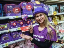 Milka Valentine - 624 promotional activities in 2 days! (25)