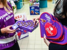 Milka Valentine - 624 promotional activities in 2 days! (26)