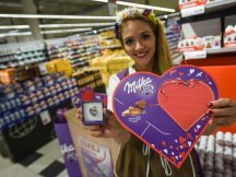 Milka Valentine - 624 promotional activities in 2 days! (1)