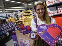 Milka Valentine - 624 promotional activities in 2 days! (35)
