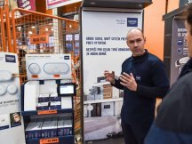 Grohe – professional presentation in hobby markets (4)