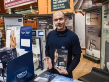 Grohe – professional presentation in hobby markets (6)