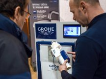 Grohe – professional presentation in hobby markets (12)