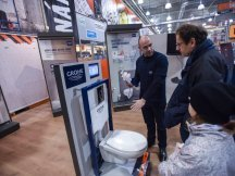 Grohe – professional presentation in hobby markets (13)