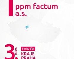 Prestižní ocenění pro ppm factum!