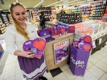 I Love Milka – valentýnské promotion (1)