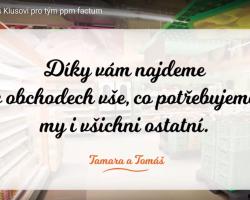 Tamara a Tomáš Klusovi pro tým ppm factum