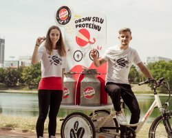 Babybel Protein - road show