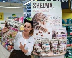Tasty promo for feline Shelma!